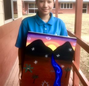 Esther Tells her Story through Art