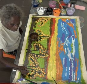 Painted Stories: Linking country