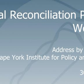 Address by Noel Pearson to the National Reconciliation Planning Workshop 30 May 2005