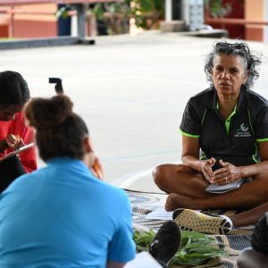 Culture circle at CYGA - Health and Wellbeing
